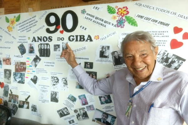 Giba faz 90 anos com saúde e energia