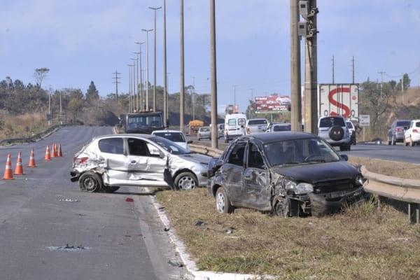 PRF registra 764 acidentes em rodovias federais durante o feriadão