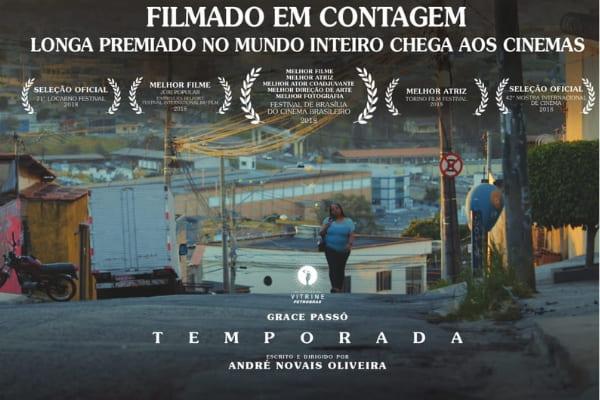 Longa filmado em Contagem tem estreia nacional nos cinemas