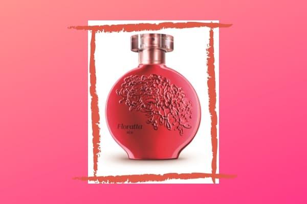 Floratta Red é novidade da marca O Boticário