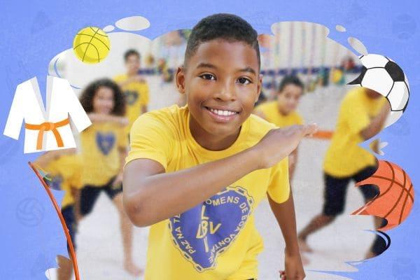 Campanha da LBV incentiva prática de esportes