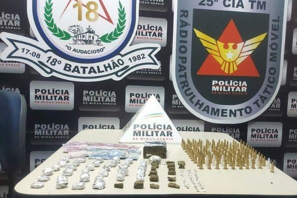 Adolescente é detido com drogas no bairro Fonte Grande