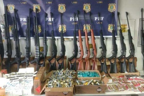 Polícia Civil investiga apreensão recorde de armas em Minas
