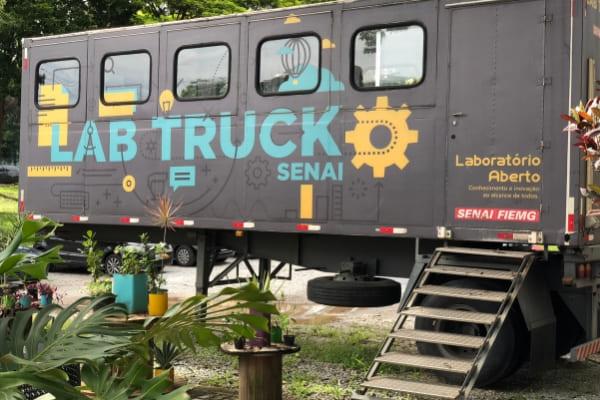 Lab Truck Tour chega a Contagem nesta semana