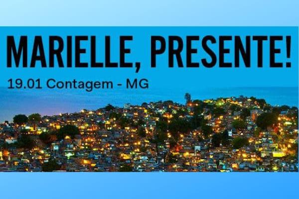 Livro de Marielle Franco é lançado em Contagem