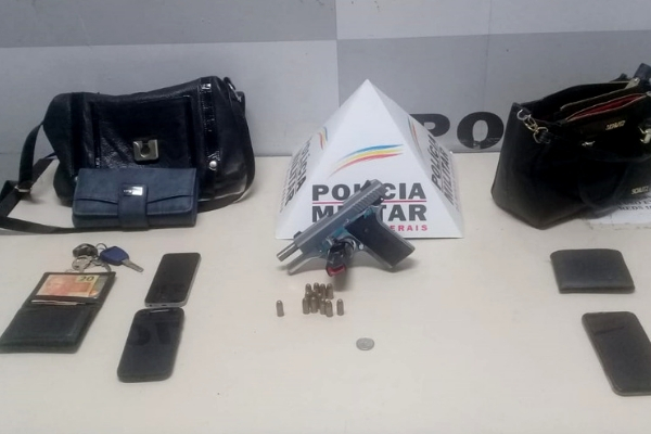 Assaltantes e polícia trocam tiros em avenida de Contagem