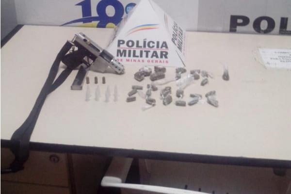 Polícia apreende arma utilizada em homicídio, em Contagem