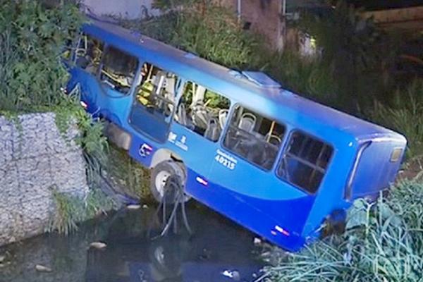 Polícia confirma falha mecânica em acidente com ônibus no Barreiro
