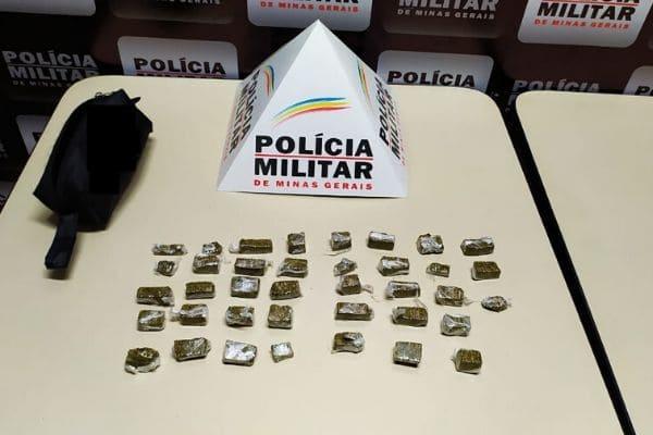 Homem que vendia drogas por aplicativo é preso em Contagem