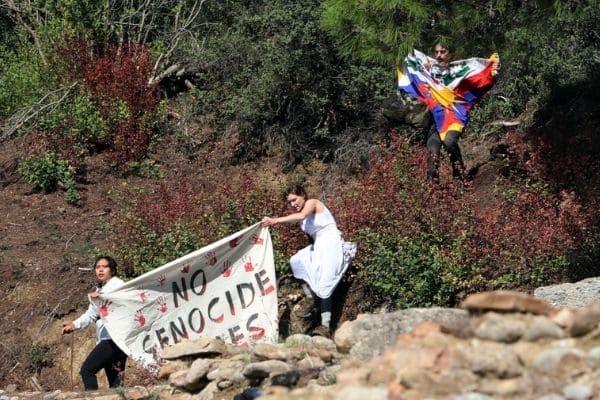 Protesto por Tibete marca acendimento da tocha dos Jogos Pequim 2022