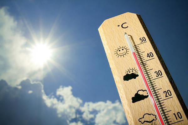 Calor continua no fim de semana, em Contagem