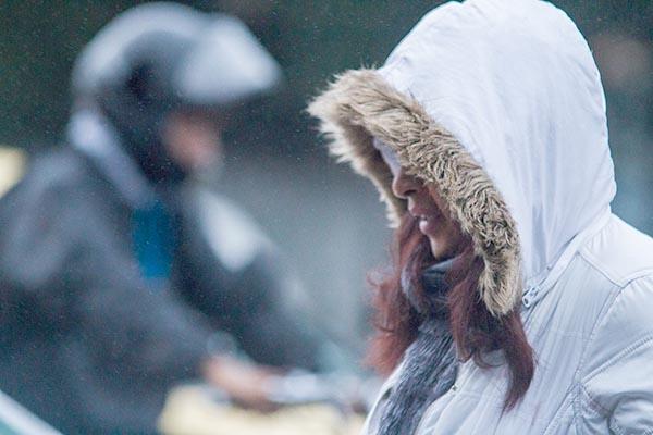 Contagem tem frio e chuva até segunda-feira