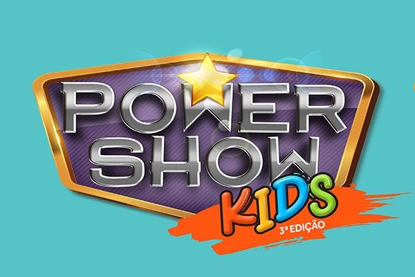 Inscrições para Power Show Kids seguem até domingo
