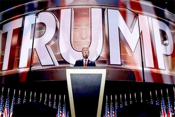 Trump promete uma América para os americanos, em primeiro lugar