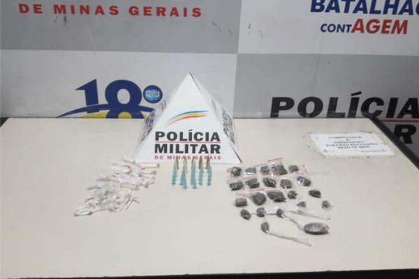 Suspeitos fogem e abandonam drogas no Nascente Imperial
