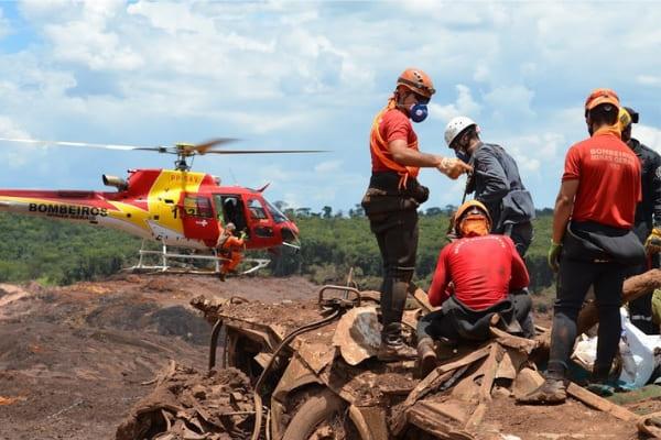 Rompimento de barragem em Brumadinho tem mais duas mortes confirmadas