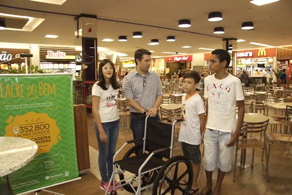 Shopping apoia ações solidárias