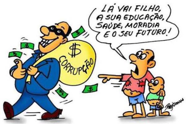 Corrupção, futuro roubado