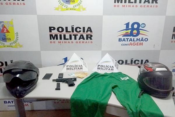 PM cerca suspeitos e recupera motos roubadas, no Darcy Ribeiro