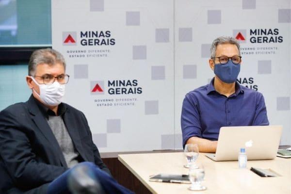 Zema diz que Estado já tem plano estruturado para vacinação contra Covid-19