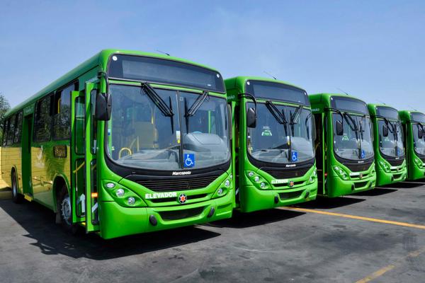 Circulação de ônibus é reduzida em dias de jogos do Brasil
