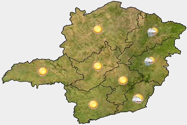 Grande BH permanece sem previsão de chuva