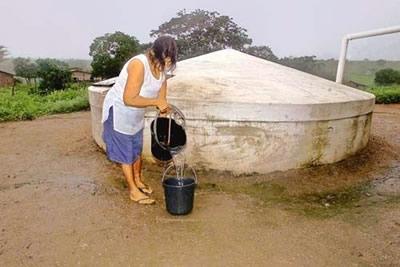 Captação e Manejo de Água de Chuva.