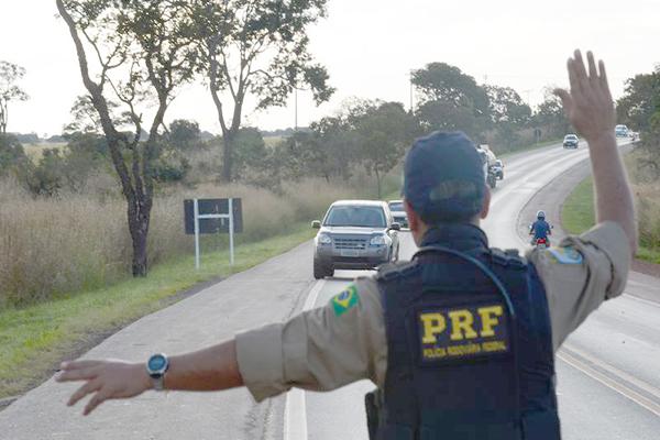 PRF começou a operação de fim de ano nas rodovias