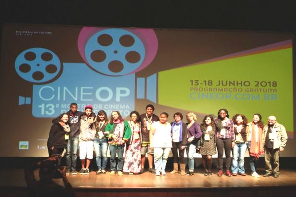 Alunos de Contagem representam município na CineOP
