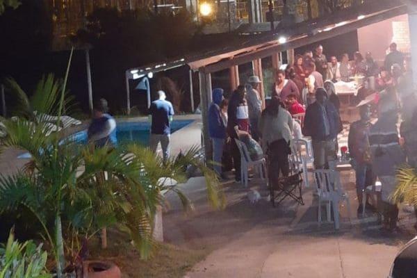 Festa clandestina é interrompida em Contagem