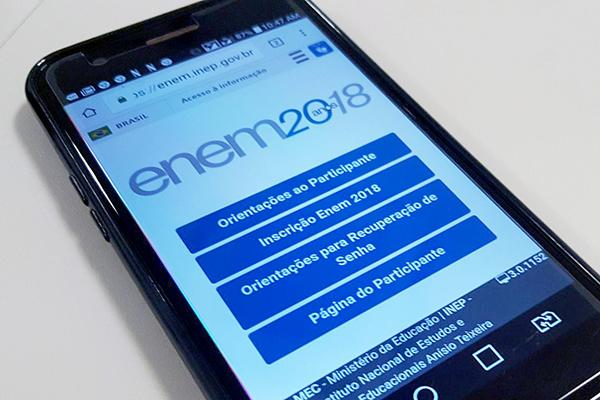 Mais de 1 milhão de candidatos já consultaram local de prova do Enem
