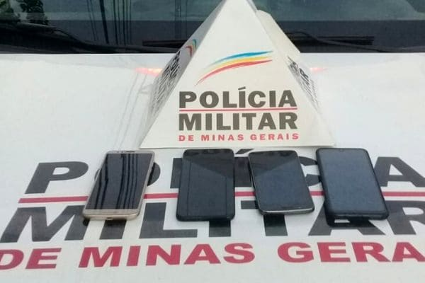 PM recupera celulares roubados no São Joaquim