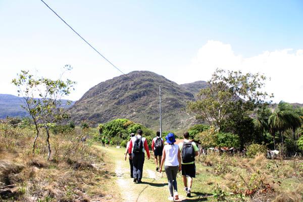 Turismo de observação e exercício físico