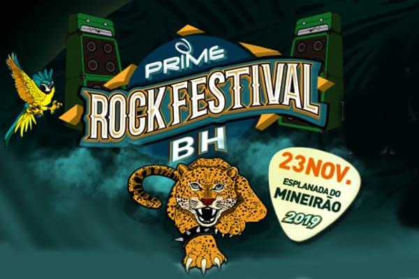É hoje! Prime Rock Festival em BH