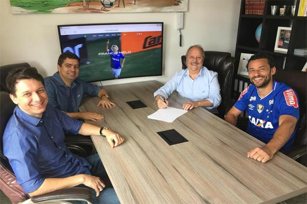 Fred ex-Galo é contratado pelo Cruzeiro