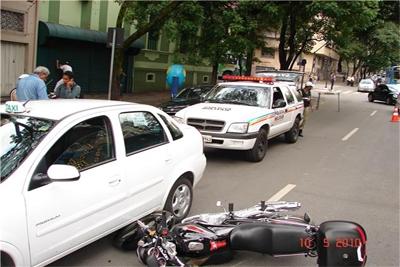 Internauta flagra acidente em Belo Horizonte