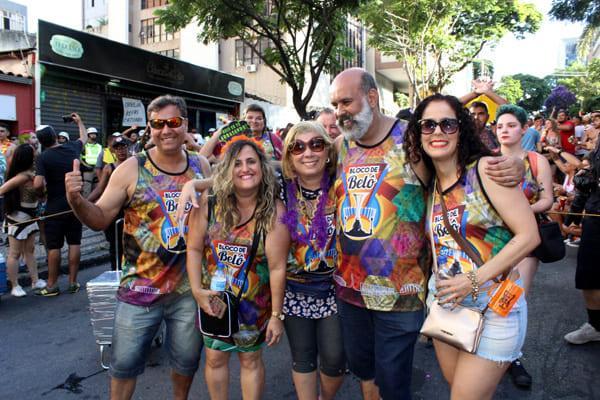 Bloco de Belô faz sucesso no Carnaval de BH