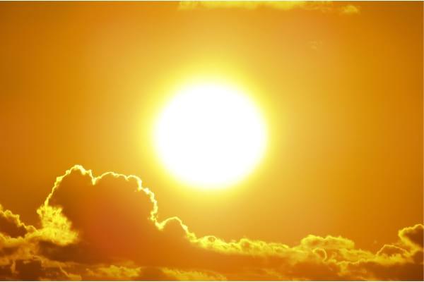 Temperaturas ficam elevadas em Contagem