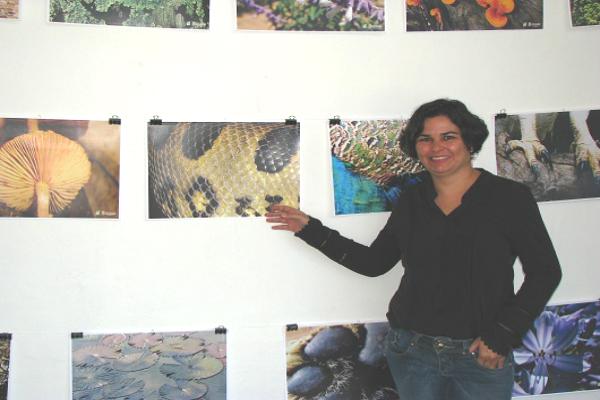 Exposição mostra as texturas naturais da fauna e flora de Belo Horizonte