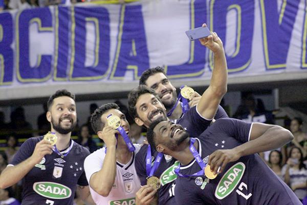 Sada Cruzeiro conquista tricampeonato em Mundial de Clubes