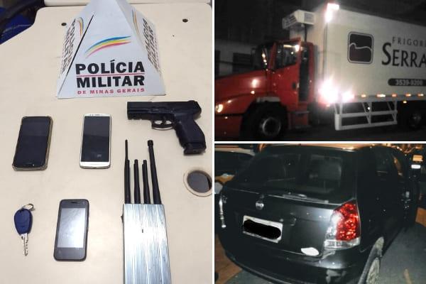 Polícia apreende 3 toneladas de carne roubadas em Contagem