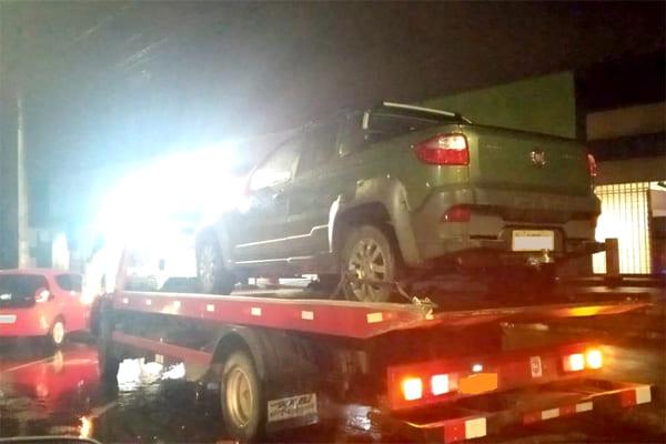 Carros roubados são recuperados em Contagem