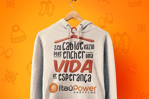 Campanha do Agasalho do ItaúPower segue até dia 30