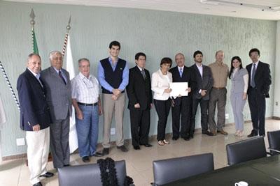 Diretoria da ACIC visita a prefeita de Contagem