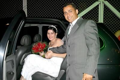 Casamento de Andréia e Anderson.