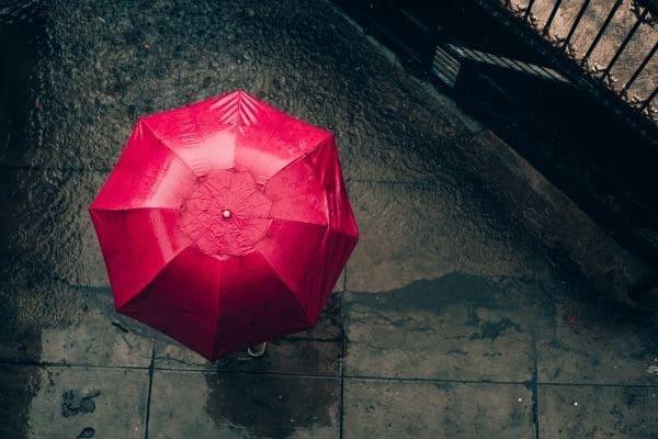 Chuva predomina na previsão do tempo para o fim de semana