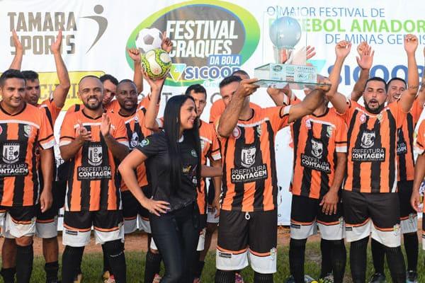 Time de Contagem é campeão do Festival Craques da Bola 2019