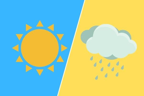 Temperaturas variam até 19°C no mesmo dia, em Contagem