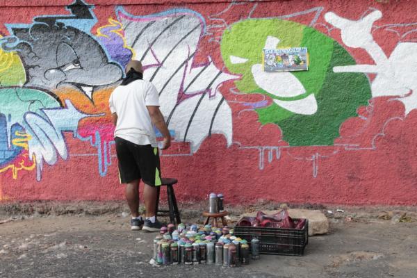 Contagem ganhará mais uma arte urbana de presente