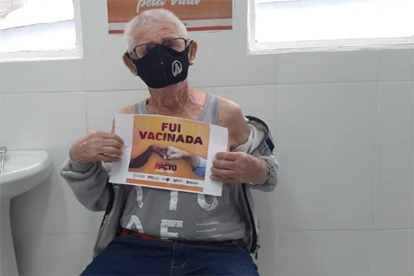 Dia D de vacinação contra a Covid-19 em Contagem